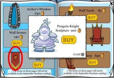 Penguin Knight Sculpture Cheat