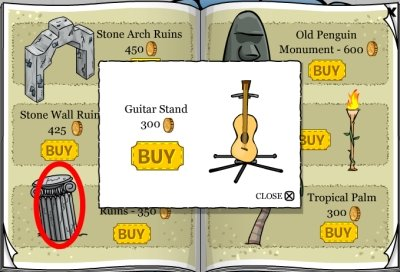 Guitar Stand Cheat