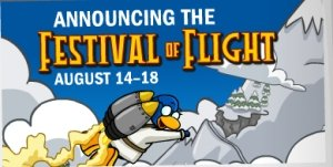 Club Penguin Festival of Flight