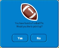 Football Pin Cheat