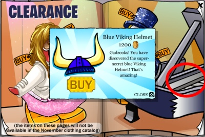 Blue Viking Helmet Cheat