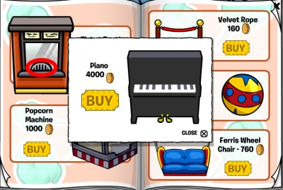 Club Penguin Piano Cheat