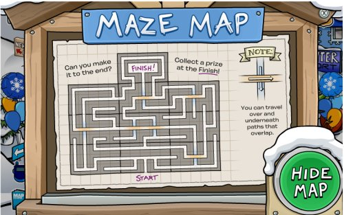 Map Of The Maze