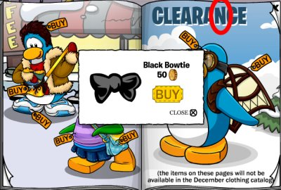 Black Bowtie Cheat