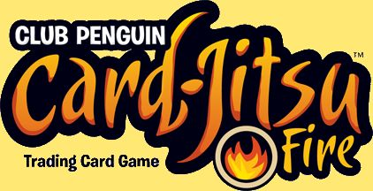 Club Penguin Card Jitsu Fire Logo