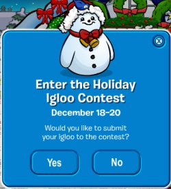 Igloo Contest