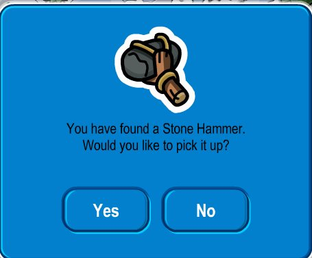 Club Penguin Hammer Pin Cheat