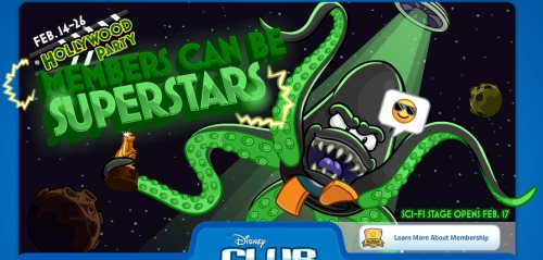 Image of Members Can Be Superstars Green Octopus