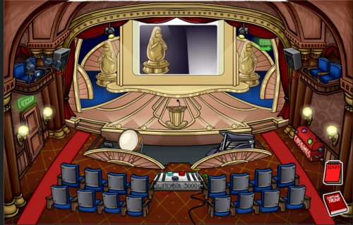 Image of the theater for the Penguin Play Awards