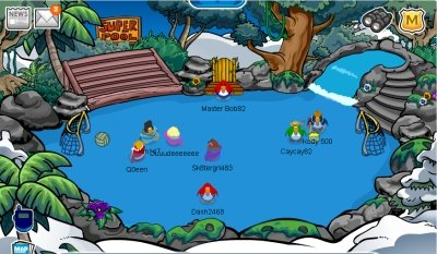 Club Penguin Scavenger Hunt Cheat