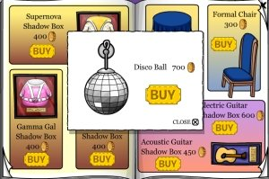 Image of Club Penguin Disco Ball