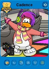 Image of Candence in Club Penguin