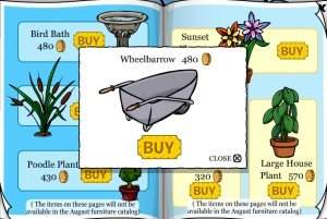Club Penguin Wheelbarrow