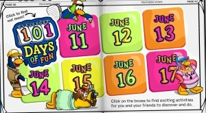 Club Penguin 101 Days of Fun Image