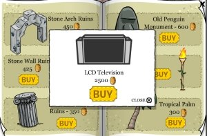 Club Penguin LCD TV