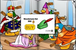 The Club Penguin Woodsman Hat
