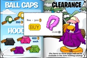 Image of Club Penguin Boa