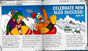 Image of Club Penguin Dance Competition