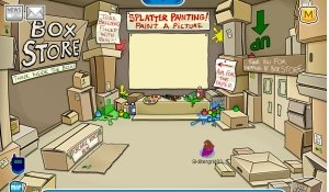 Image of the The Club Penguin Box Shop