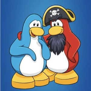 Image of Rockhopper from Club Penguin