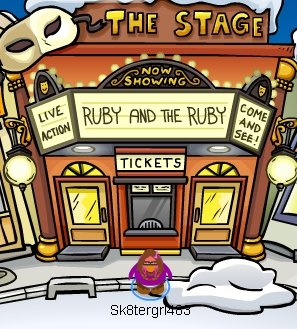Club Penguin Ruby and the Ruby Pin Cheat