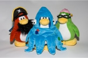 Series 3 Club Penguin Figures