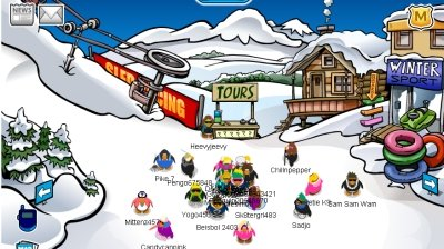 Image of Club Penguin No-Name Cheat