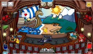 Image of The Haunting of the Viking Opera on Club Penguin